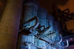 Indústria para fabricar da gusa, Ostrava, República Checa fotos de stock