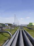 Indústria petroleira Imagem de Stock