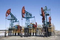 Indústria petroleira 3 imagem de stock