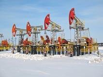Indústria petroleira fotografia de stock royalty free