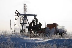 Indústria petroleira imagens de stock