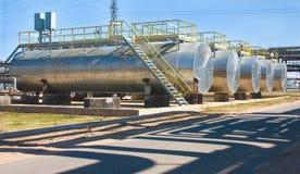 Indústria petroleira. fotos de stock