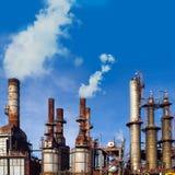 Indústria petroquímica Imagens de Stock