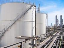 Indústria petroquímica Foto de Stock Royalty Free
