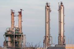 A indústria química da planta Imagens de Stock