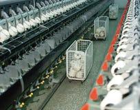 Indústria têxtil Fotografia de Stock