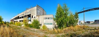 Indústria velha da fábrica Foto de Stock Royalty Free