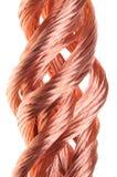 Indústria vermelha do fio de cobre Imagem de Stock Royalty Free
