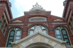 Indústrias das artes que constroem o Washington DC de Smithsonian Fotos de Stock