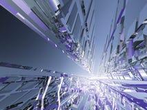 Indústrias futuras Imagem de Stock
