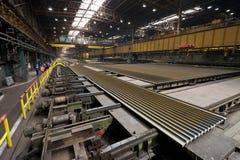 Indústrias siderúrgicas Foto de Stock