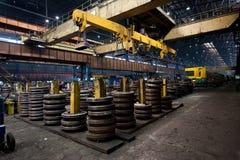 Indústrias siderúrgicas Fotografia de Stock