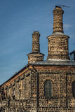 Indústrias siderúrgicas velhas Imagem de Stock Royalty Free