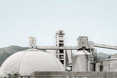Indústrias siderúrgicas velhas da fábrica Imagem de Stock
