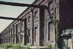 Indústrias siderúrgicas velhas da fábrica Imagens de Stock