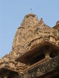 ind kadzhuraho świątynie Fotografia Stock