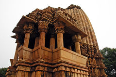ind khajuraho świątynia Zdjęcia Stock