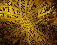 Indagine di polizia Fotografia Stock