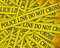 Indagine di polizia Immagine Stock Libera da Diritti