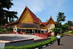 indah印度尼西亚微型taman 免版税库存图片