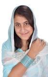Indaian punjabi village girl royalty free stock photo