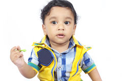 Indain Cute Baby Stock Images