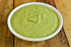 Indain green Chutney Royalty Free Stock Photo