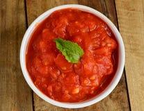 Indain tomato Chutney Stock Images