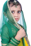 Indain Traditional Little Girl Stock Photos