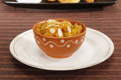 Indan Sweet Halwa made from Moong Dal Stock Photography