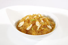 Indan Sweet Halwa made from Moong Dal. Stock Photos