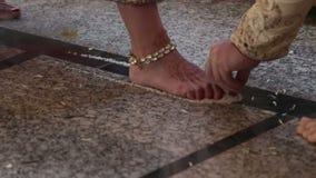 Inde épousant Ceremonia clips vidéos