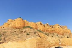 Inde d'or de fort de Jaisalmer Image libre de droits