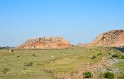 Inde de collines de countgryside Image stock