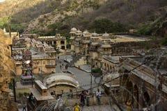Inde de Galta Singe Photographie stock libre de droits
