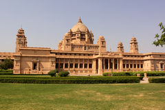 Inde de Taj Hotel Jodhpur Ràjasthàn de palais d'Umaid Bhawan Photo libre de droits