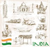 Inde de vues Photographie stock libre de droits