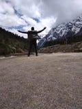Inde du Sikkim de vallée de Yumthang si froide image stock