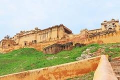 Inde majestueuse de Jaipur de fort d'Amer Photographie stock libre de droits