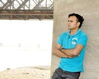 Inde modèle masculine de photos Photo stock