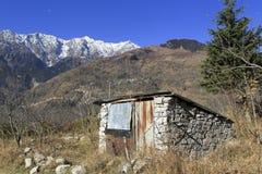 Inde rentrée par image de paysage, Manali Image libre de droits