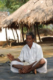 Inde rurale d'homme Images stock