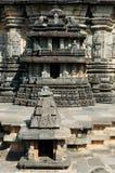 Inde, temple de Chennakesava en Hassan photo libre de droits