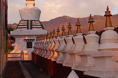 Inde templed par prière tibétaine Image stock