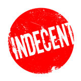 Indecent rubber stamp Stock Images