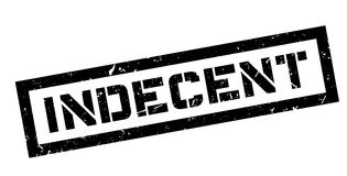 Indecent rubber stamp Stock Photo