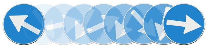 Indecisión - imagen del concepto Imágenes de archivo libres de regalías