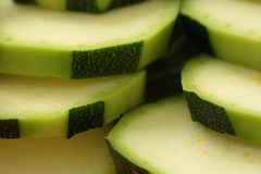 Indeed zucchini slices Royalty Free Stock Photos