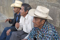 Indegenous Guatemalan Men Royalty Free Stock Image