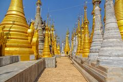 Indein, Inle Lake Royalty Free Stock Photos